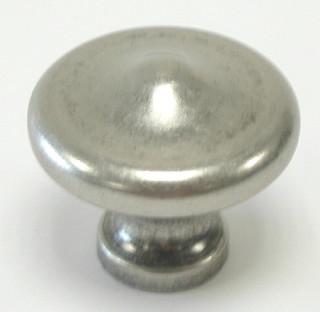 Top Knobs M1229 Peak Knob 1 5/16 Inch- Pewter Antique