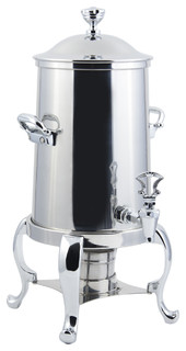 Roman Non Insulated Coffee Urn With Chrome Trim