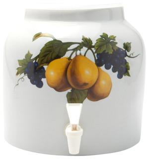 Goldwell Designs Pear Design Water Dispenser Crock