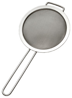 Miu France Polished Stainless Steel Mesh Strainer And Sifter 7""