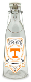 University Of Tennessee Glass Milk Jar Medium - 16.9 Ounces