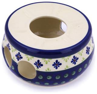 """Polmedia Polish Pottery 6"""" Stoneware Heater"""
