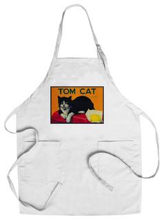 Chef's Apron Tom Cat Lemon Label