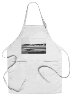 Chef's Apron Seaside Oregon Beach And Cottages North Of Pier Photograph