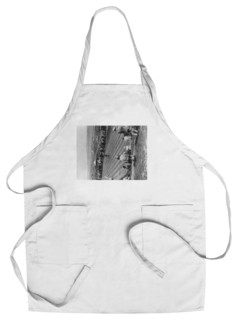 Chef's Apron Golfing In The Burns Country Of Scotland Photograph