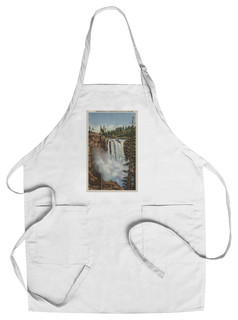 Chef's Apron Snoqualmie Falls WA View Of Falls At Top