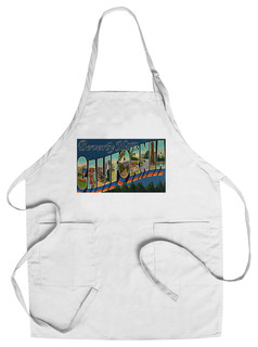 Chef's Apron Greetings From Beverly Hills California