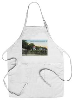 Chef's Apron El Verano California Oak Grove Villa Scene