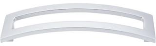 """Euro Arched Pull 5"""" (c-c) - Aluminum"""