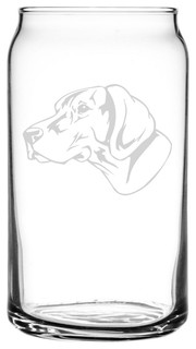 German Shorthaired Pointer Gsp Dog All Purpose 16oz. Libbey Can Glass