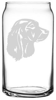 German Spaniel Deutscher Wachtelhund Dog All Purpose 16oz. Libbey Can Glass