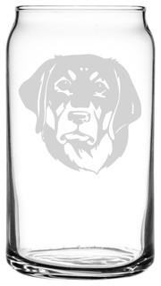 Transylvanian Hound Hungarian Dog All Purpose 16oz. Libbey Can Glass