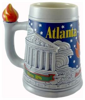 Anheuser-Busch Atlanta 1996 Olympic Games Beer Stein/Mug