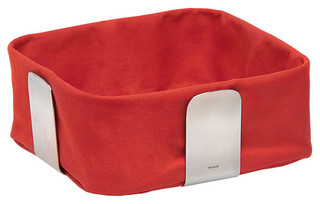 Desa Large Red Bread Basket by Blomus Red