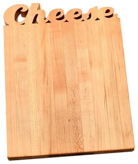 """""""Cheese"""" Cutting Board"""