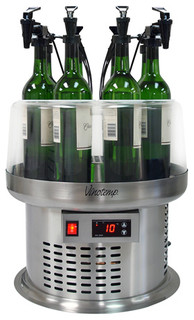 Vinotemp Wine Dispenser Systems for Open-Bottle Wine Coolers 4 Bottles