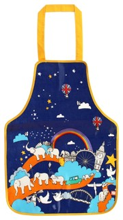 Elephant Parade Unforgettable Journey Childs PVC Apron