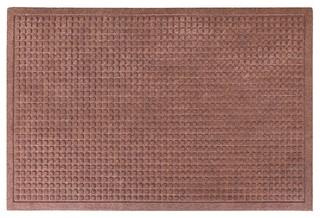Matrix 24x36 Indoor/Outdoor Mats Anti Slip Fabric Finish Dark Brown
