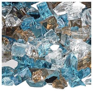 "Afg Aff-Blirf12-10 1/2"" Bali Reflective Fire Glass 10 Lbs."