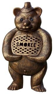 Smokee Bear Chimenea Sculpture