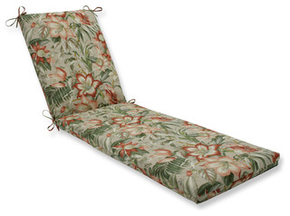 Botanical Glow Tiger Stripe Oversized Chaise Cushion