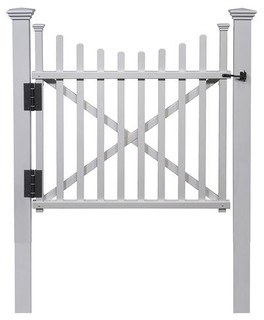 Manchester Vinyl Gate Kit with Posts and Hardware