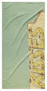 "KISSES Beach Towel By Bomobob 30""x62"""