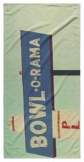 BOWL O RAMA Beach Towel By Bomobob 30x62