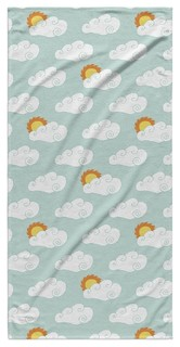 """APRIL SHOWERS Beach Towel By Northern Whimsy 30""""x62"""""""