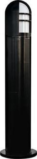 Fiberglass Bollard Black Black
