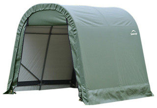 8'x8'x8' Round Style Shelter Green