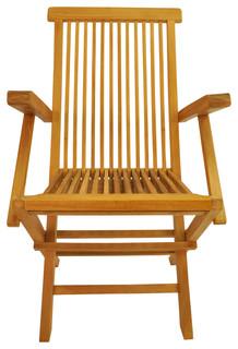 Classic Folding Armchair Set of 2