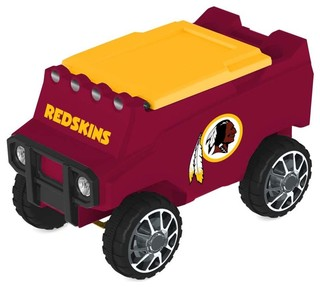 Washington Redskins Remote Control Cooler With Bluetooth MP3 Speakers