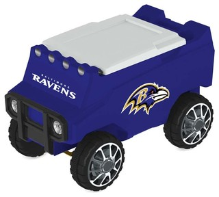 Baltimore Ravens Remote Control Cooler With Bluetooth MP3 Speakers
