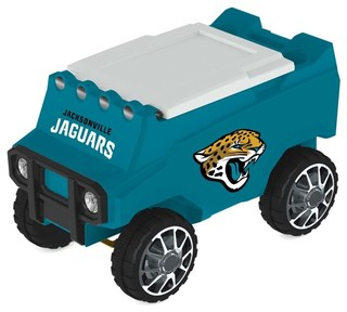 Jacksonville Jaguars Remote Control Cooler With Bluetooth MP3 Speakers