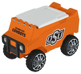 Oklahoma State Cowboys Remote Control Cooler With Bluetooth MP3 Speakers