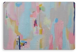 """MAKING EYE CONTACT Indoor Outdoor Floor Mat By Susan Skelley 27""""x18"""""""