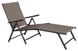 Modern Adjustable Chaise Lounge Chair