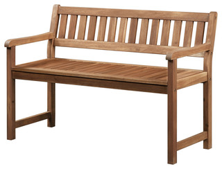 Solid Wood Acacia Bench Teak