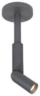 Tech Lighting Outdoor Mode Single Wall Light/Ceiling Light Charcoal