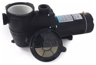 2 HP High-Flo In Ground Above Ground Swimming Pool Pump With Strainer Basket
