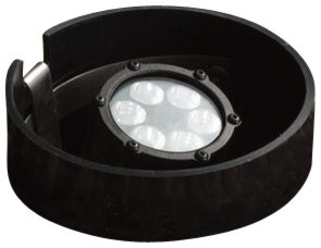Kichler 15748BKT Six Light Wide Spread Ground LED Pond Light