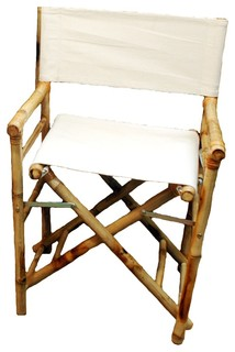 Bamboo Director Chairs - Set of 2
