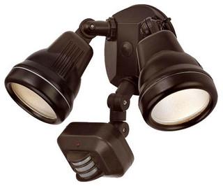 Acclaim Lighting FL55 100 Watt Outdoor Motion Activated Double Flood Light