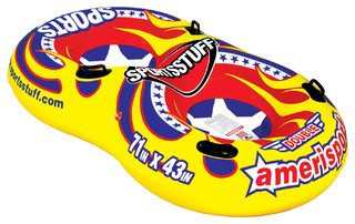 Sportsstuff Double Amerisport Inflatable Tube for Winter and Summer Fun