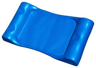 Aquaria Deluxe Aqua Hammock Float for Swimming Pools Blue