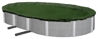 Winter Pool Cover Above Ground 18'x34' Oval Arctic Armor 12-Year Warranty