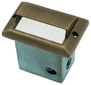 Die Cast Brass Antique Bronze LV Short Step Light LV-59