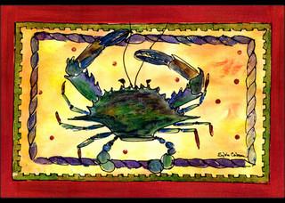 """Crab Indoor/Outdoor Mat 24""""x36"""" 8058"""