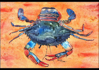"Crab Indoor/Outdoor Mat 24""x36"" 8096"
